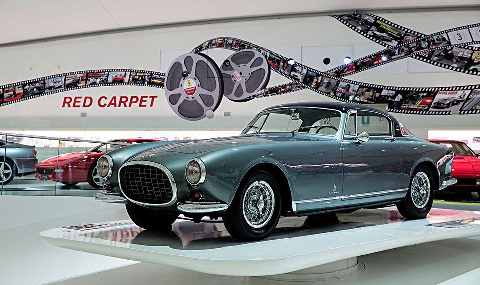 Ferrari 375 Americana im Museum