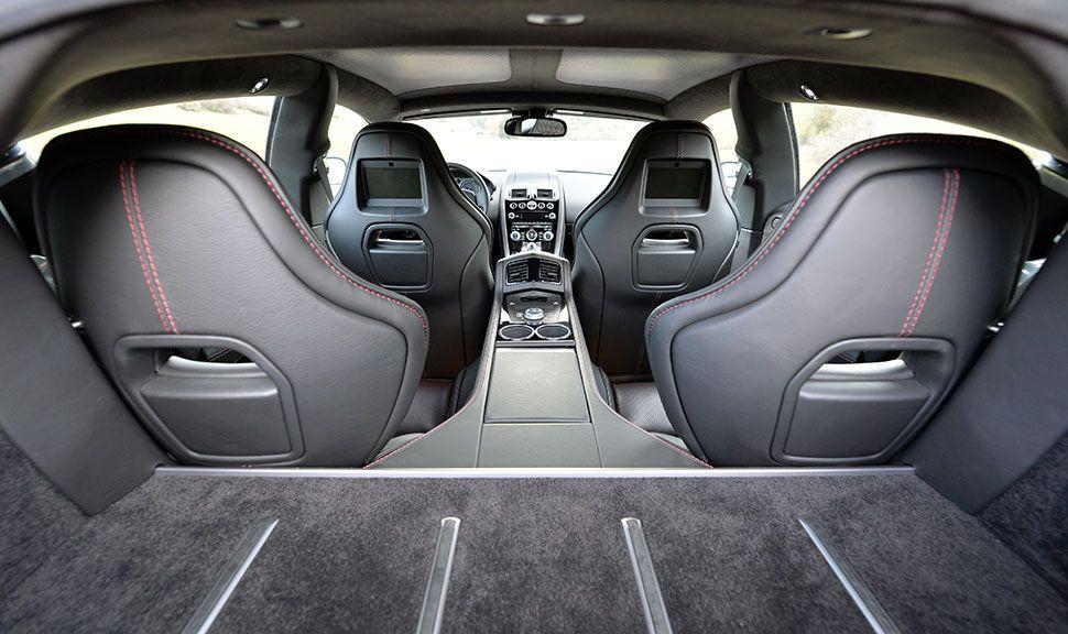 Innenraum des Aston Martin Rapide