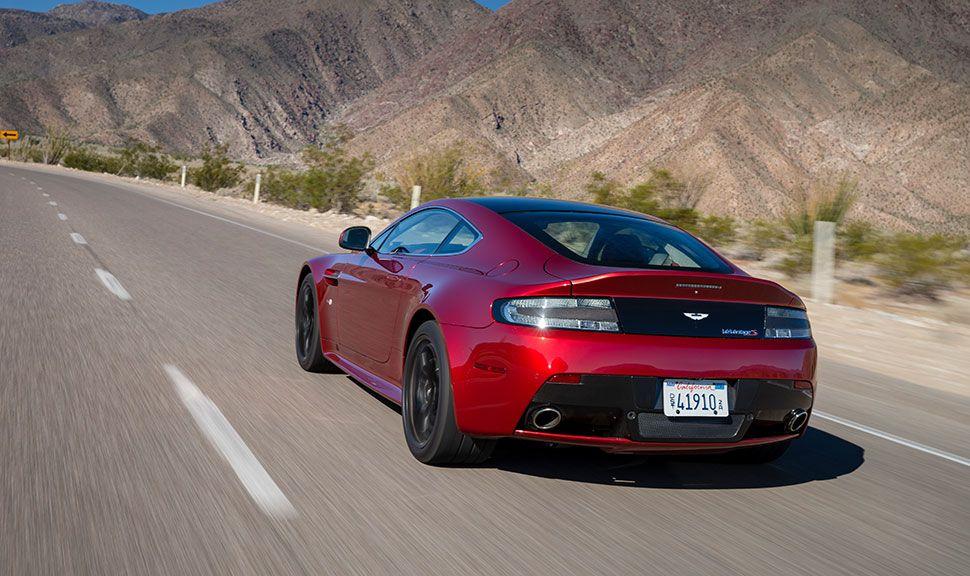 Heck des Aston Martin Vantage V12