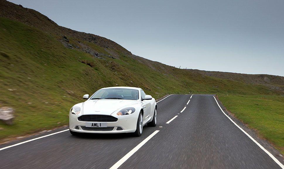 Front des Aston Martin DB9