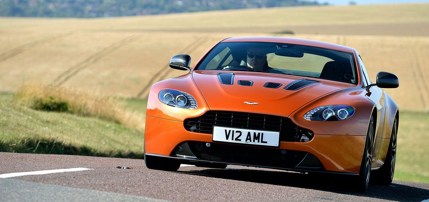 Aston Martin V12 Vantage Front