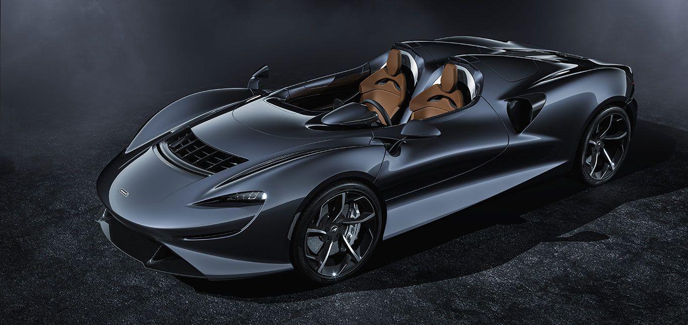 McLaren Elva Front und Seite