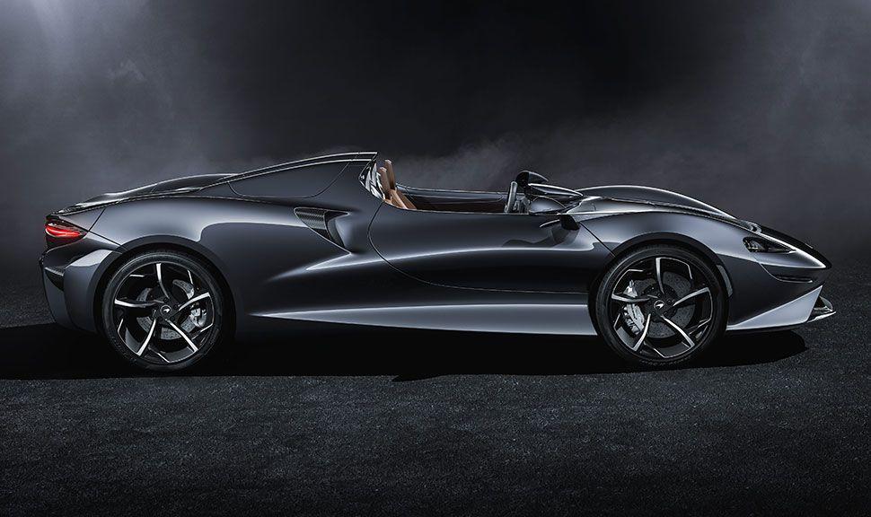 Seitenansicht des McLaren Elva