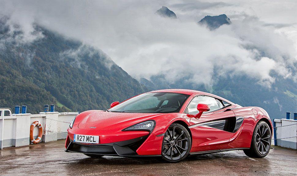 McLaren 540C in Rot von schräg links vorne