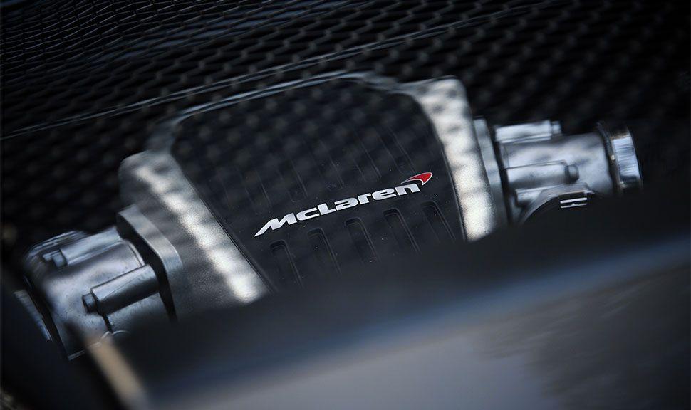McLaren 540C Motor