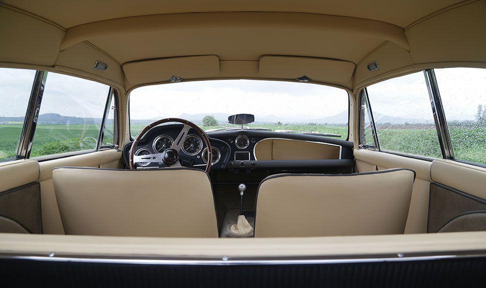 1957 Aston Martin DB2/4 Mk III Innenraum