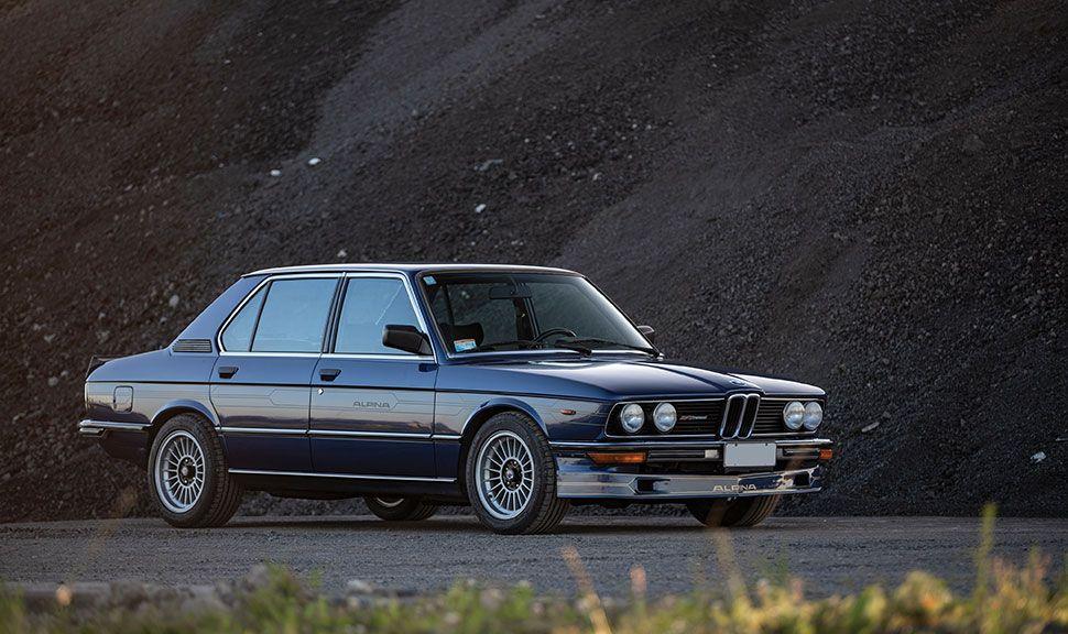 1982 BMW Alpina B7 S Turbo Front und Seite