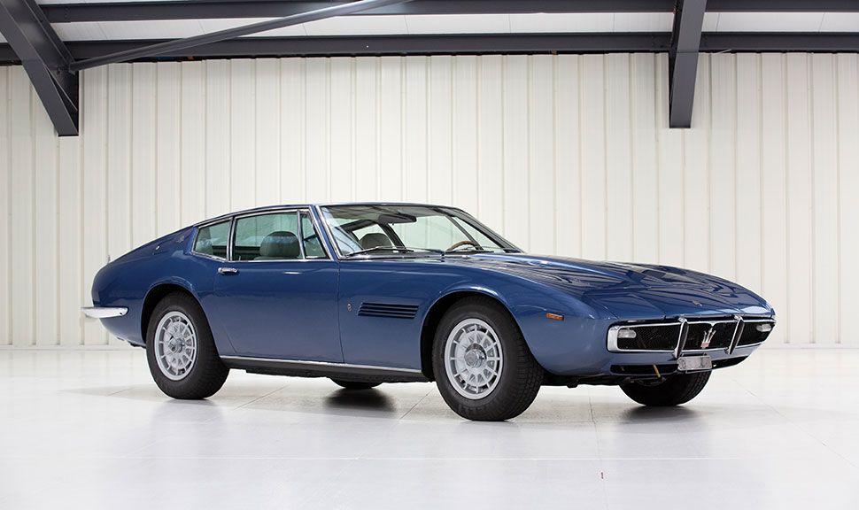Maserati Ghibli SS Front und Seite