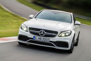 Mercedes C63 AMG Front