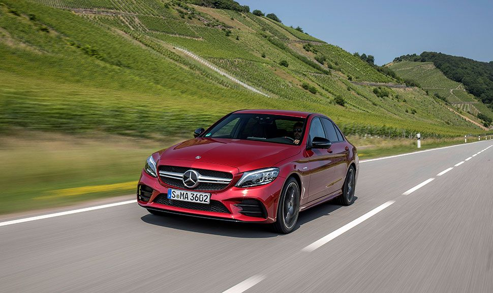Mercedes C43 AMG Front