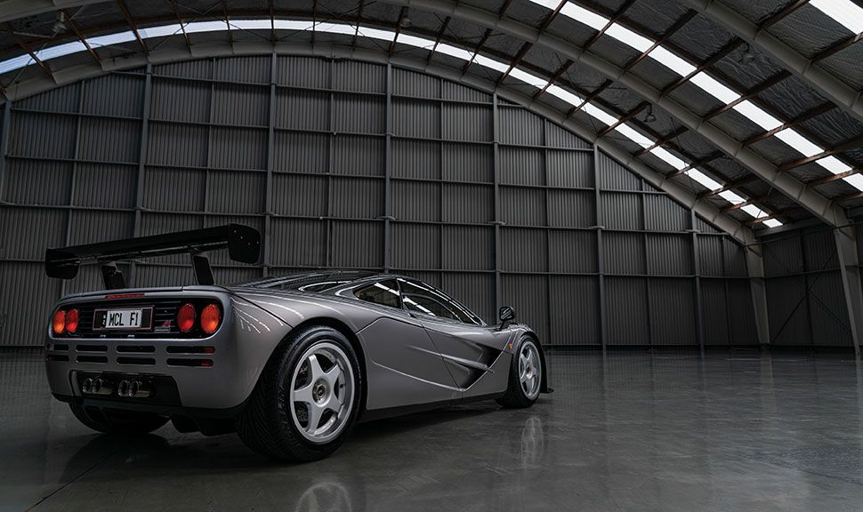 McLaren F1 LM Specification Heck