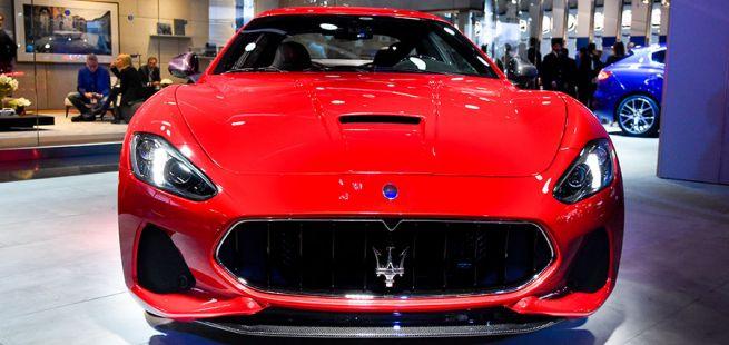Maserati Gran Turismo Front