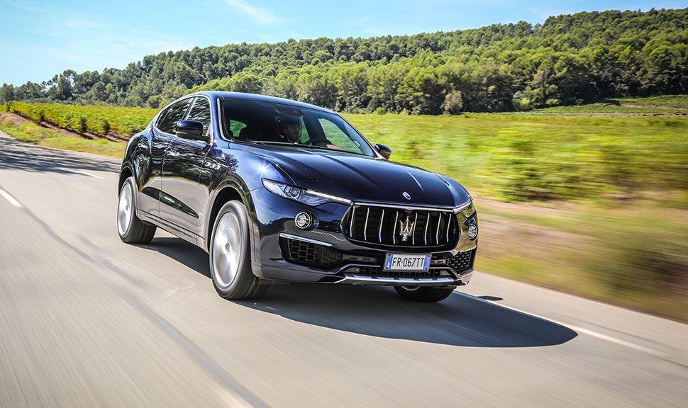 Maserati Levante Front und Seite