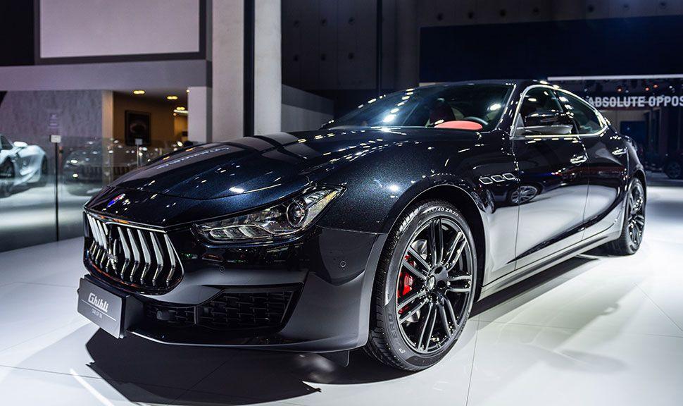 Maserati Ghibli Front und Seite