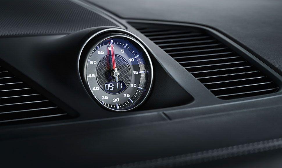Porsche Cayenne Coupé Uhr Sport Chrono Paket