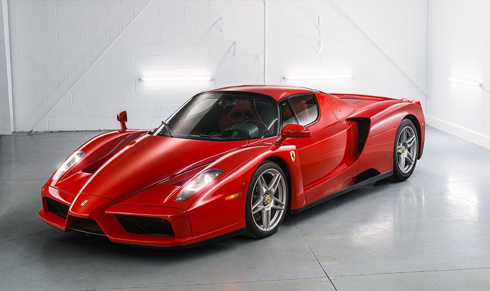 Ferrari Enzo Front und Seite