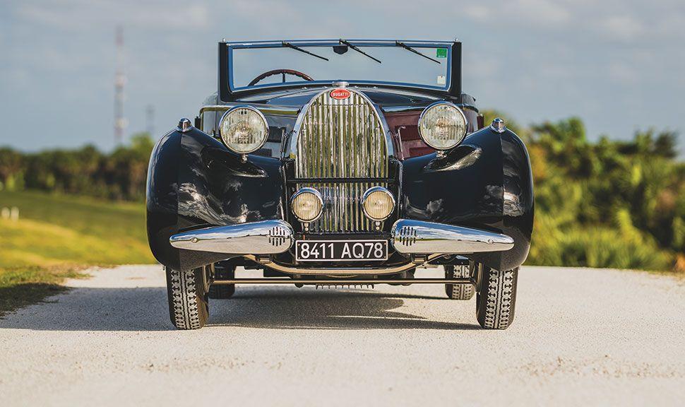 Bugatti Type 57 Front