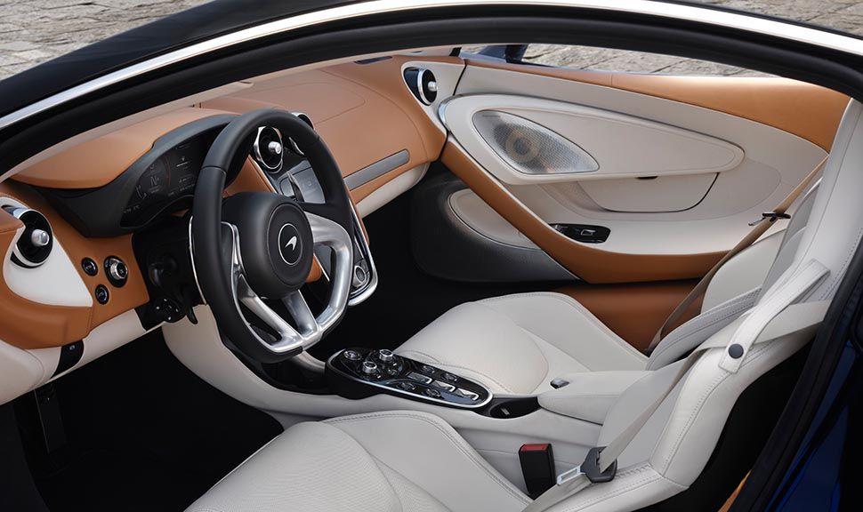 Innenraum des McLaren GT