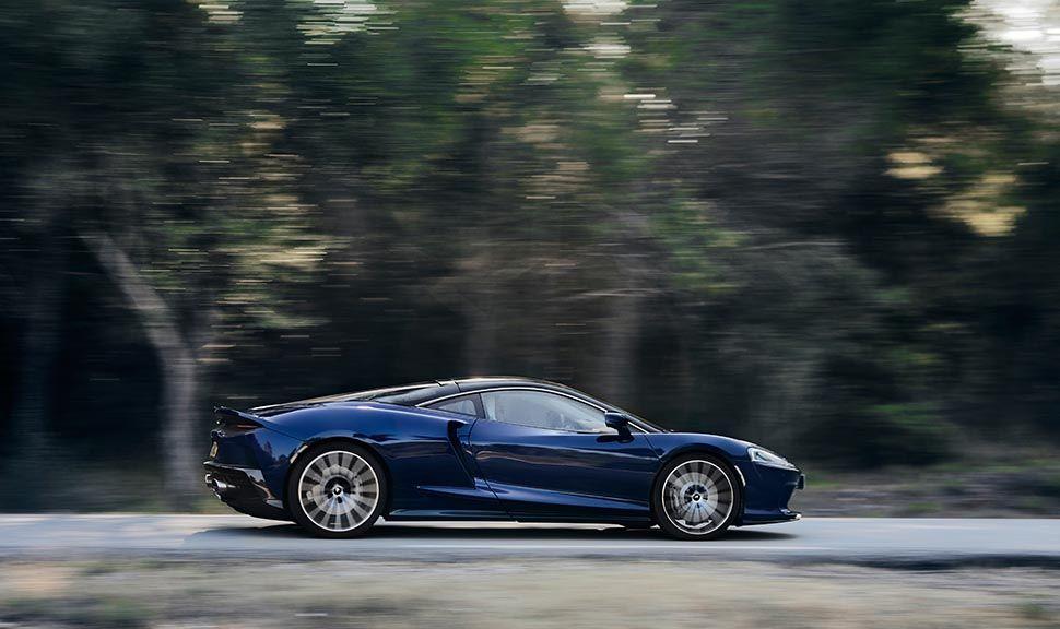 Seitenansicht eines McLaren GT