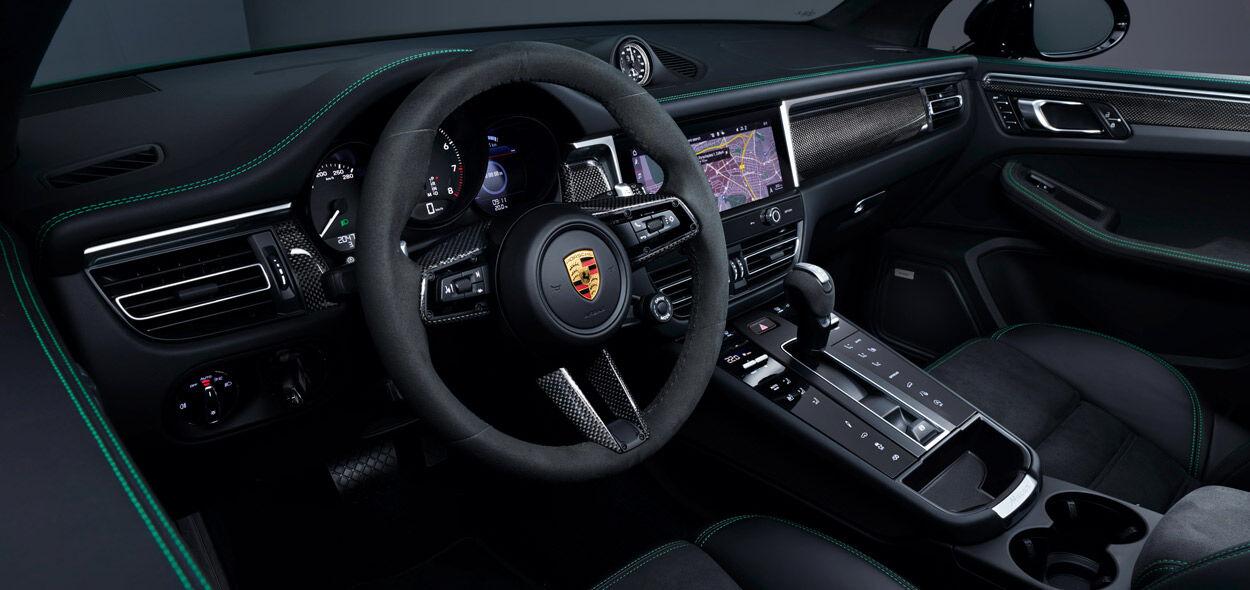 Porsche Macan, Innenansicht, Cockpit